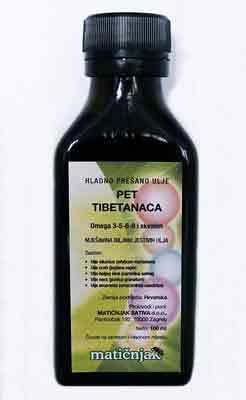 Fünf Tibeteröl