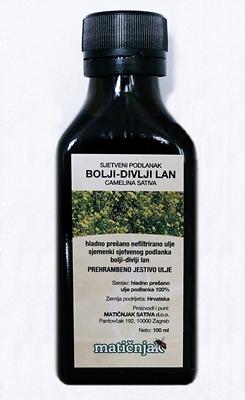 Bessere Leinöl (Camelina Sativa)