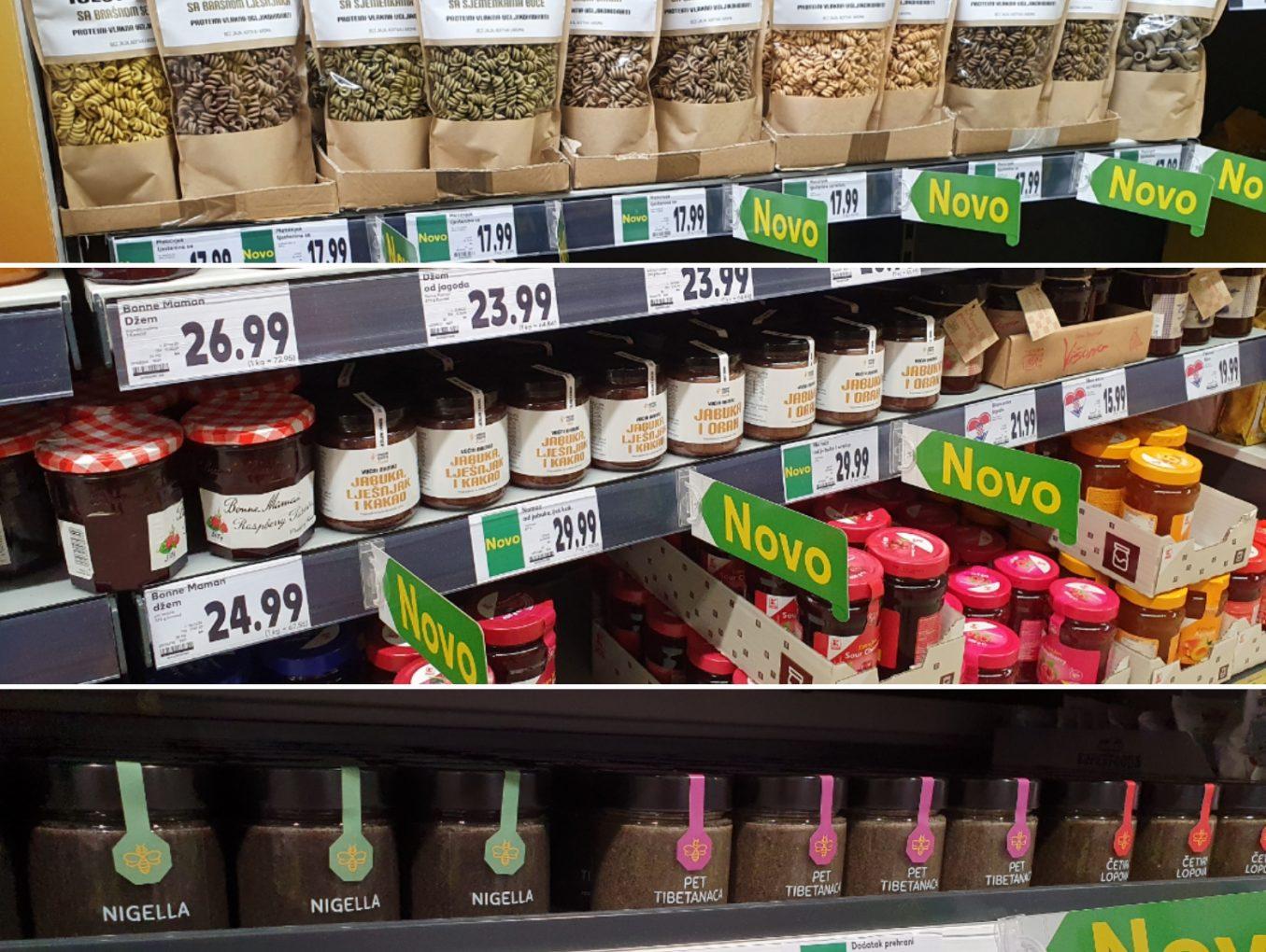 Kauflandovih 14 prodajnih mjesta uvrstilo naše tjestenine i namaze te dodatke prehrani na bazi meda!