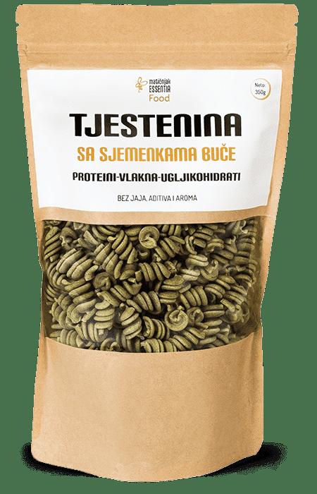 Tjestenina sa sjemenkama buče